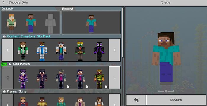 Content Creators Skin Pack Minecraft Skin Packs