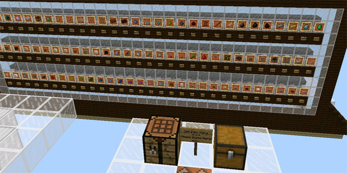 How To Make A Large Crafting Table In Minecraft