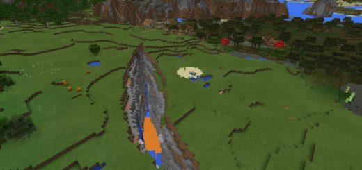-161898697: Huge Ravine & Village (1.2 Beta Only)