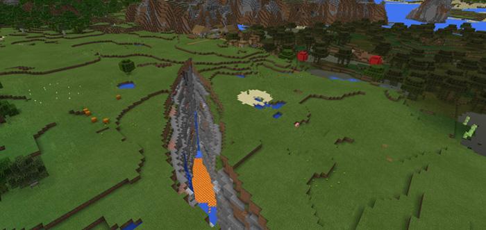161898697 Huge Ravine Village 12 Beta Only Minecraft