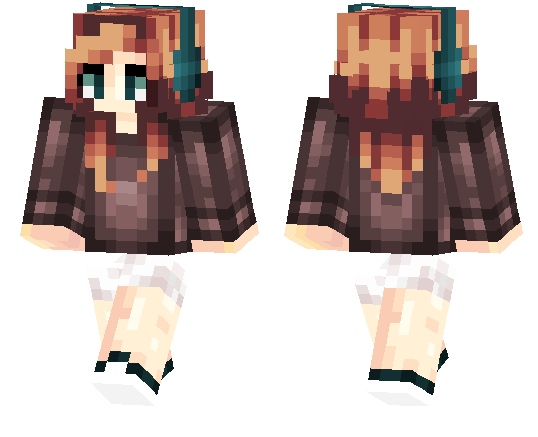 Minecraft PE Skins Page MCPE DL - Skin para o minecraft feminina