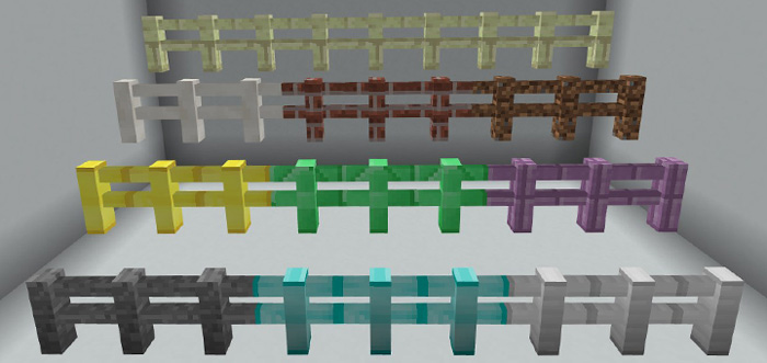More Fences Addon Minecraft Pe Mods Addons