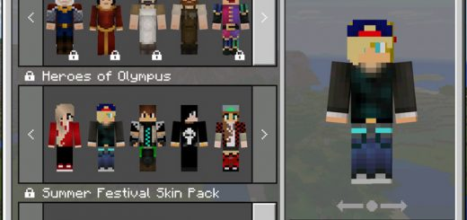 Heroes of Olympus Skin Pack (1.2 Beta Only)