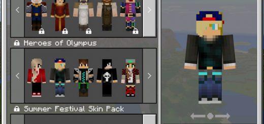 Vinnys Skin Pack Beta Only Minecraft Skin Packs - Skins para minecraft pe de kaneki