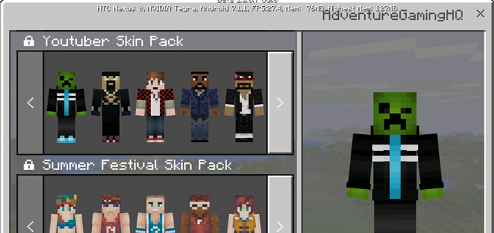 YouTubers Skin Pack Beta Only Minecraft Skin Packs - Skin para youtuber minecraft indo