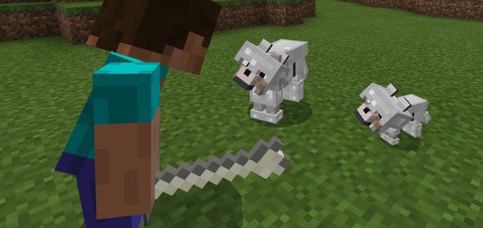 Armored Wolf Add-on | Minecraft PE Mods & Addons