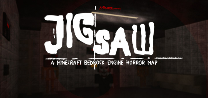 Jigsaw Horror Adventure Minecraft PE Maps - Horror maps fur minecraft