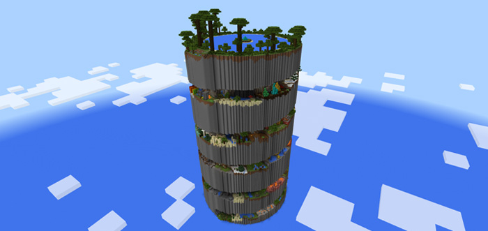 minecraft parkour map download ps4