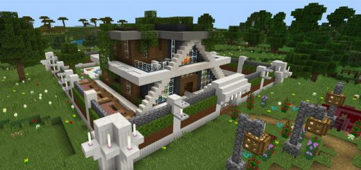 RS Smart Modern House Super Ultra [Redstone]