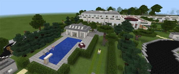 The White House Creation Minecraft Pe Maps