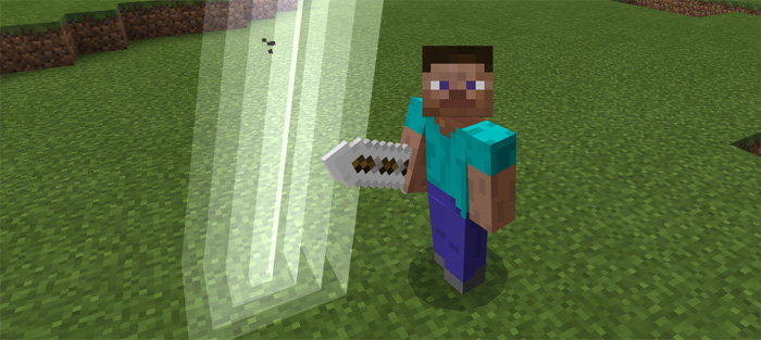 ultimate sword addon 1 2 only minecraft pe mods addons