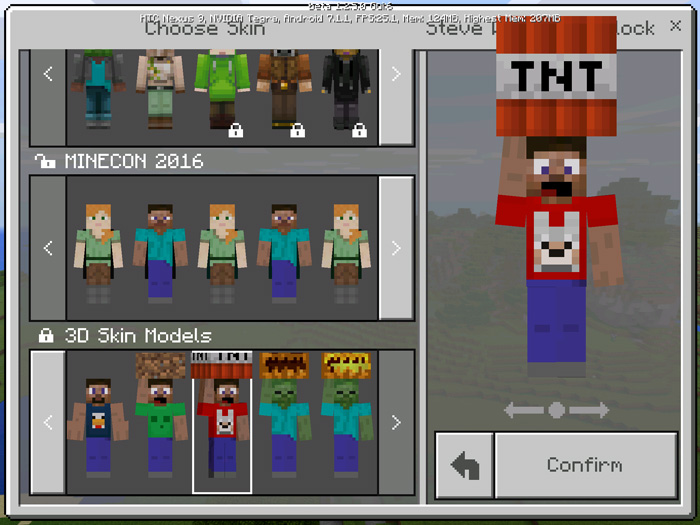 D Models Skin Pack Beta Only Minecraft Skin Packs - Skins para minecraft pc 1 11