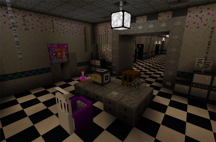 Five Nights At Freddy's 2 Re-Creation [Creation] | Minecraft