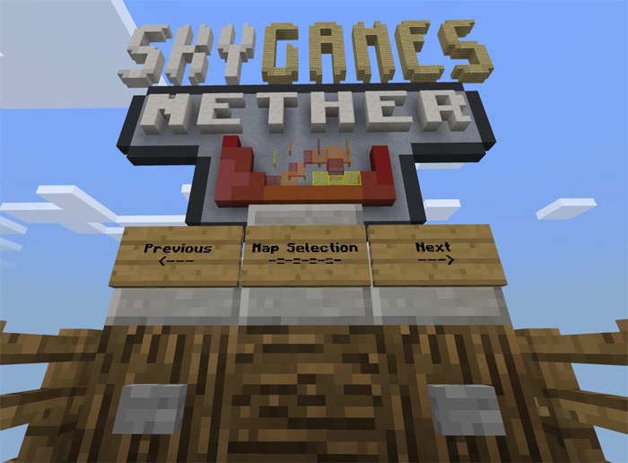 SG Spleef Minigame Minecraft PE Maps