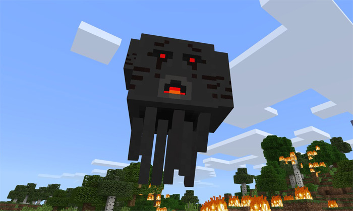 how to create a boss in minecraft pe