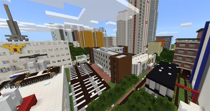 Korea Anju City 5 6 [Creation] | Minecraft PE Maps