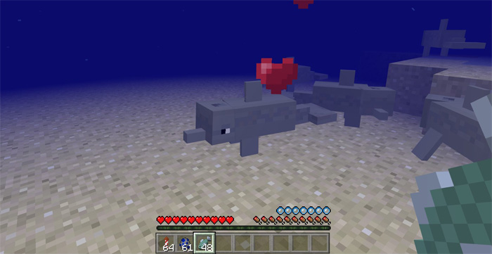 How Do You Make A Lead In Minecraft >> Dolphins Addon (Concept!) | Minecraft PE Mods & Addons