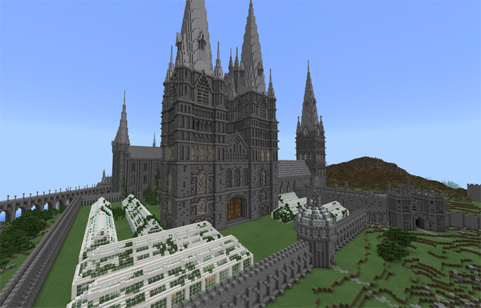hogwarts minecraft map