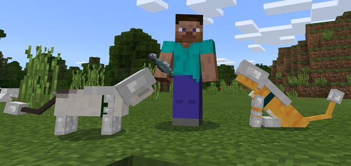 Armored Ocelot Add-on | Minecraft PE Mods & Addons