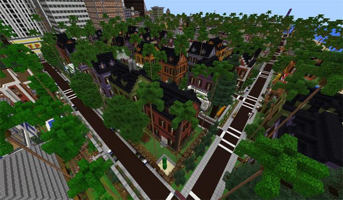 Patriotville & Freedom County [Creation] | Minecraft PE Maps
