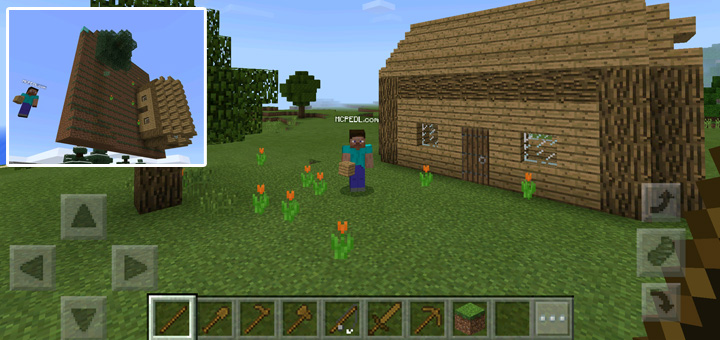 WoodEdit (World Edit) (Android) | Minecraft PE Mods & Addons