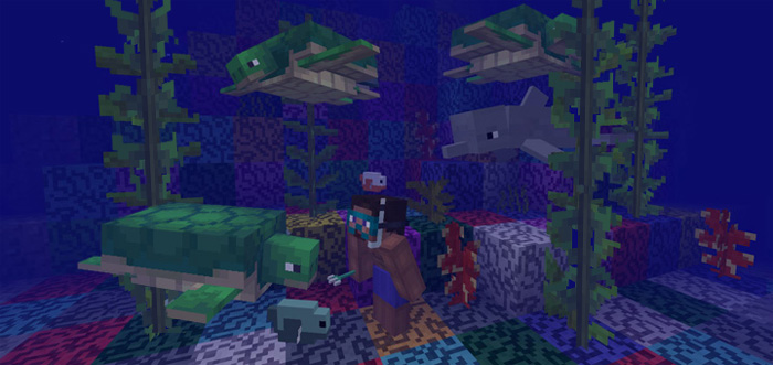The Update Aquatic (Concepts) | Minecraft PE Mods & Addons