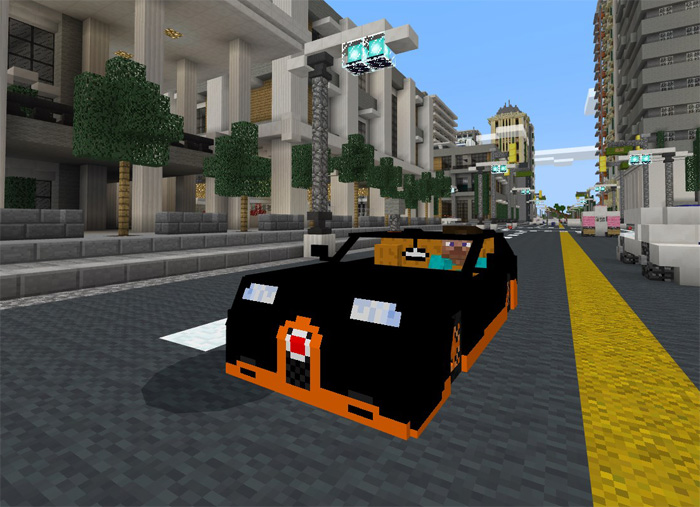bugatti veyron grand super sport addon minecraft pe mods. Black Bedroom Furniture Sets. Home Design Ideas