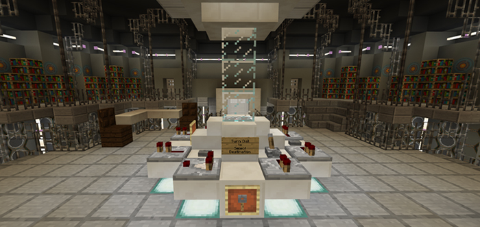 Doctor Who Tardis [Creation] | Minecraft PE Maps
