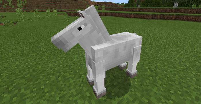 The Old Horses Addon Minecraft Pe Mods Addons