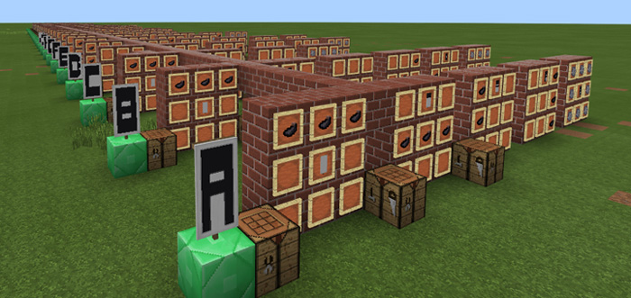 Banner Letters Tutorial [Creation] | Minecraft PE Maps