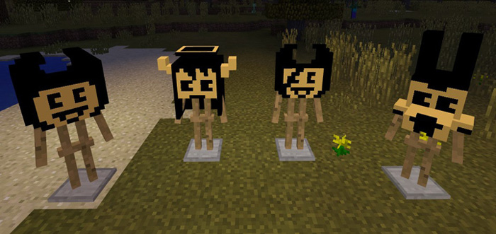 how to get heads in minecraft pe