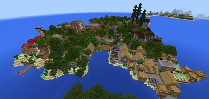 Caden Island Creation Minecraft Pe Maps