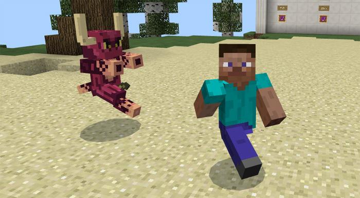 Аддон Fractured World для Minecraft  PE