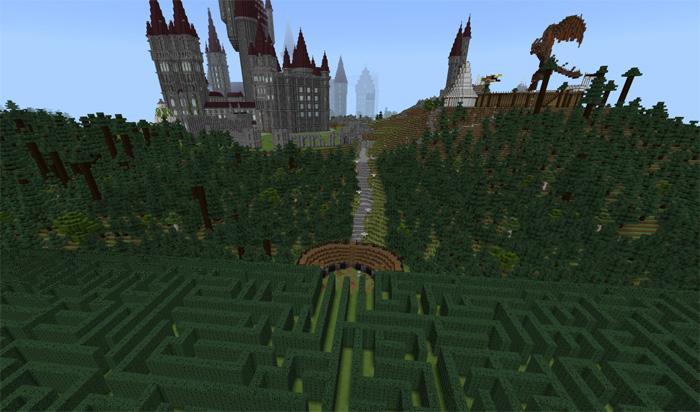 free hogwarts minecraft map download