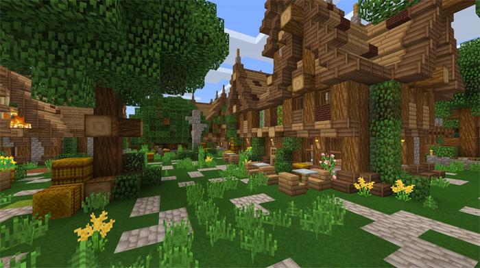 Jehkoba's Fantasy Texture Pack 16×16 | Minecraft PE Texture Packs