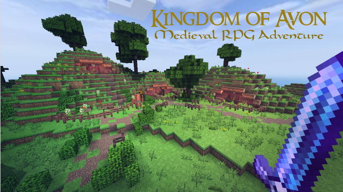 Kingdom of Avon (Open World RPG) [Adventure] | Minecraft PE Maps