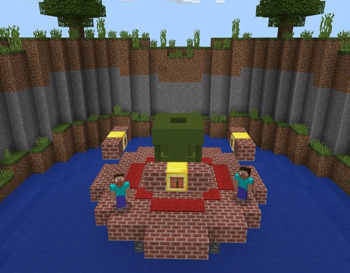 Карта SG Sumo для Minecraft PE