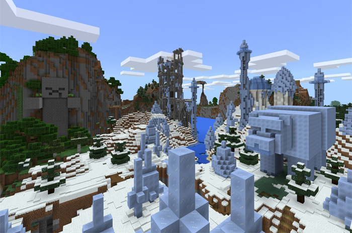 Console Edition World for Bedrock Edition [Creation