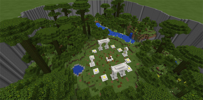 Classic Hunger Games [PvP] | Minecraft PE Maps