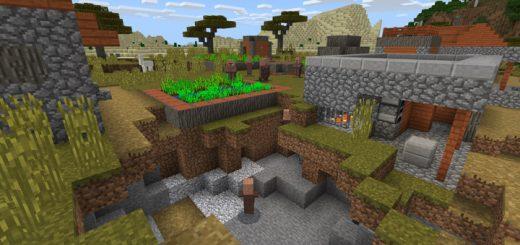 961601796: Village With Ravine Seed
