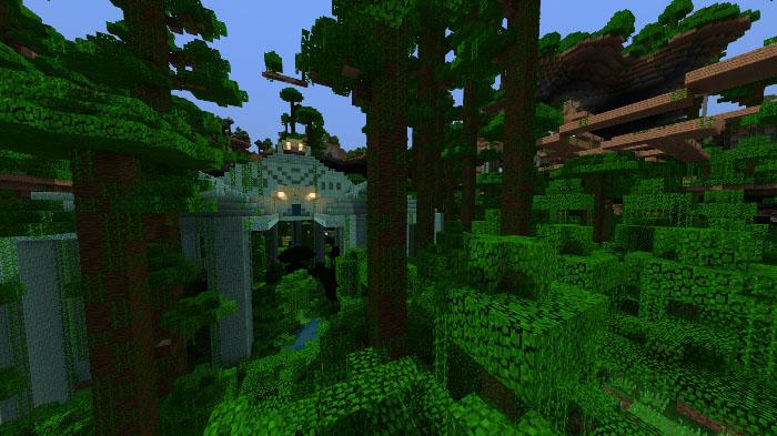 Ultra Amplified Survival World [Survival] | Minecraft PE Maps