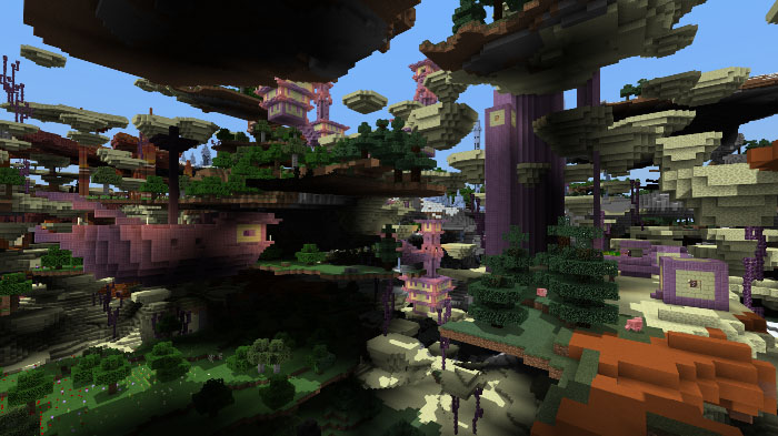 Ultra Amplified Survival World Survival Minecraft Pe Maps