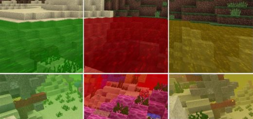 ColoredWater Texture Pack