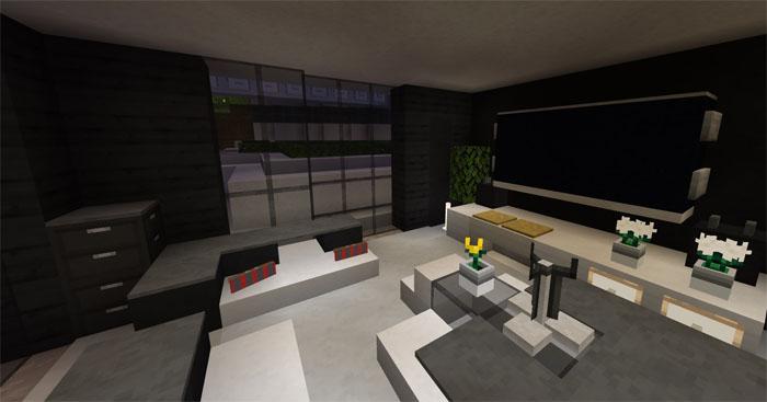 Карта $24M Hillside Mansion для Minecraft PE