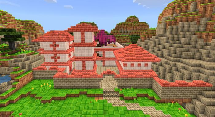 H4 MC Fortnite [Minigame] | Minecraft PE Maps