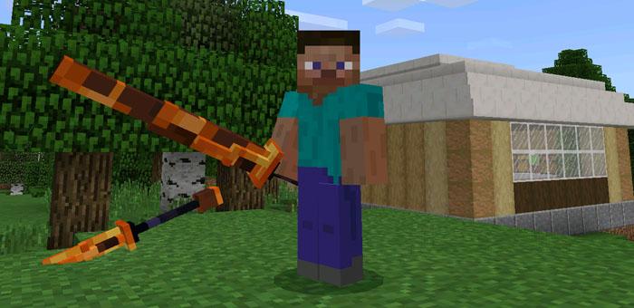 Текстура More Trident для Minecraft PE