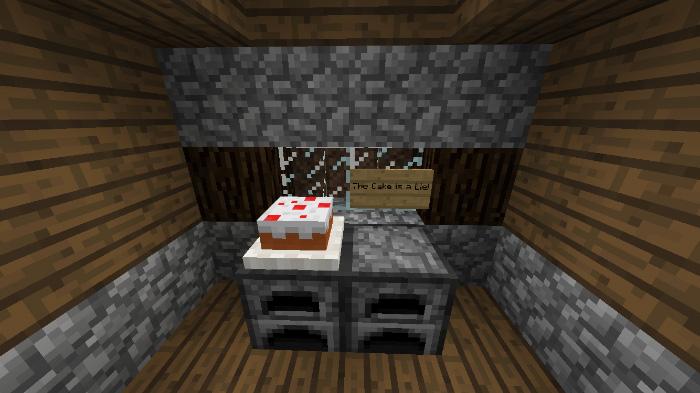 Аддон Placeable Food для Minecraft PE