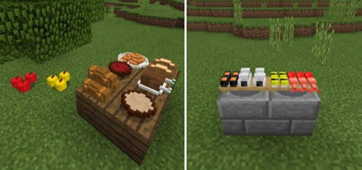 Placeable Food Addon