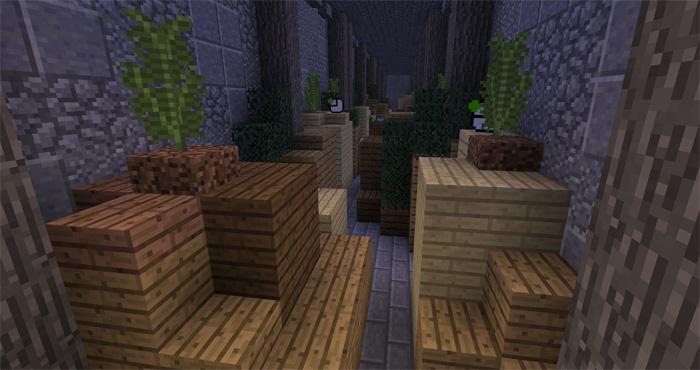 Карта SG InfiniRun для Minecraft PE