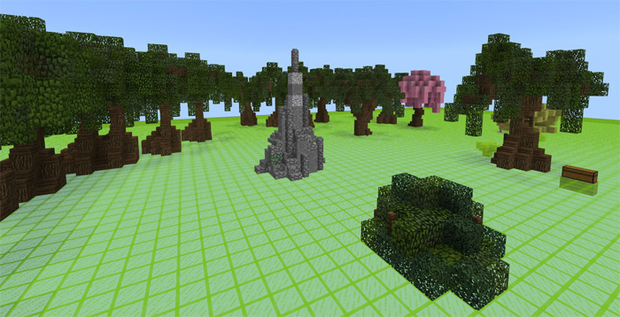 Sg custom terrain maker custom terrain redstone minecraft pe maps just within a few minutes from spawning youll be able to build all kinds cool terrain structures and trees malvernweather Images